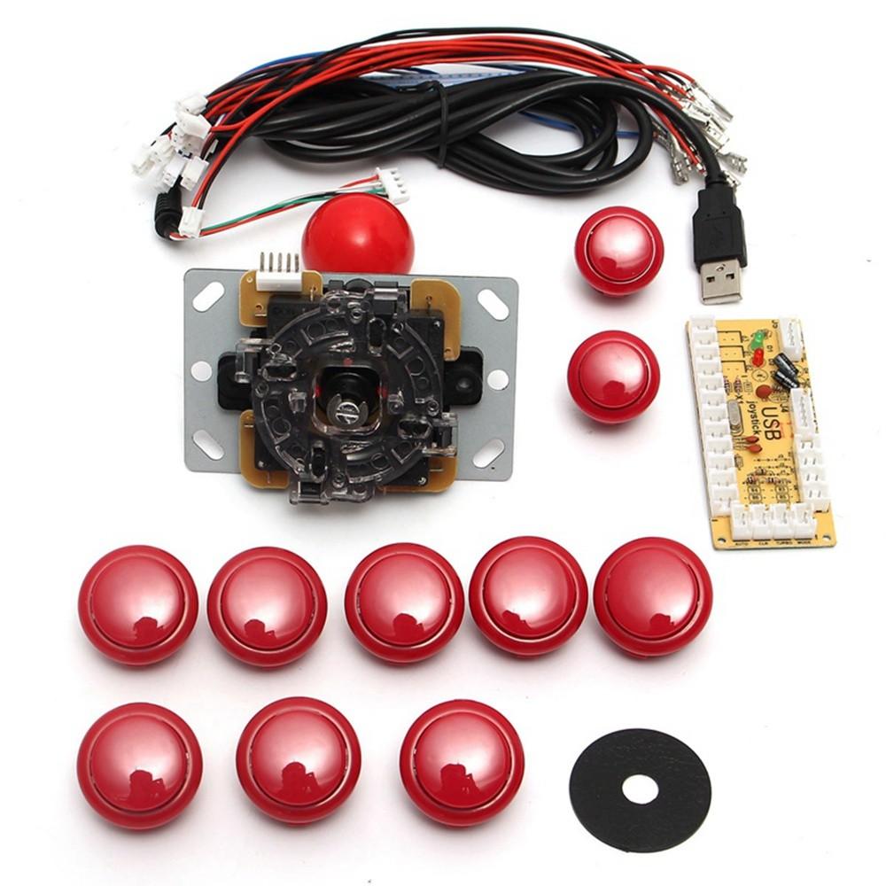 New Arcade Diy Kits Parts Usb Encoder To Pc China Sanwa Joystick Wiring Diagram Buttons Shopee Philippines