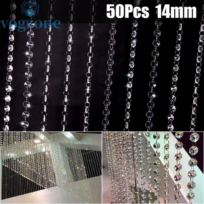 Crystal Bead Glass Light Mall S, Chandelier Replacement Glass Beads