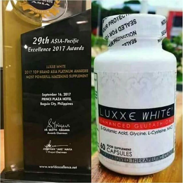 LUXXE WHITE WITH ENHANCED GLUTATHIONE 100% ORIGINAL