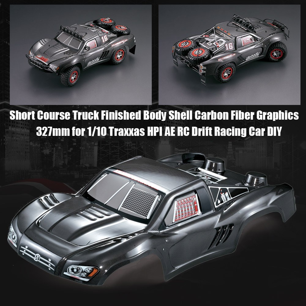 Truck Finished Body Shell Frame for 1/10 Traxxas HPI AE RC D