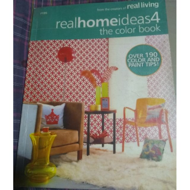 Real Home Ideas 4 The Color Book Magazine Shopee Philippines