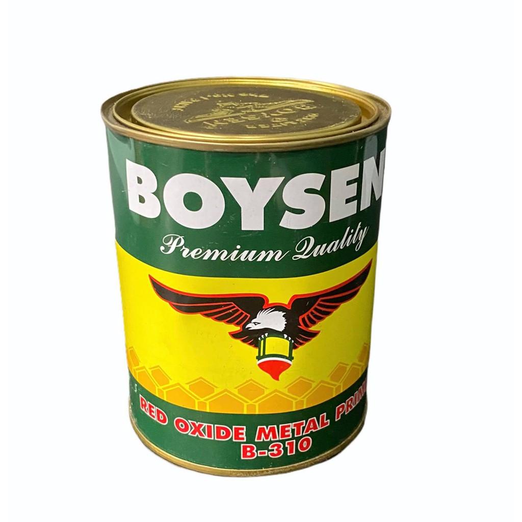 Boysen Red Oxide Metal Primer B 310 1l Shopee Philippines