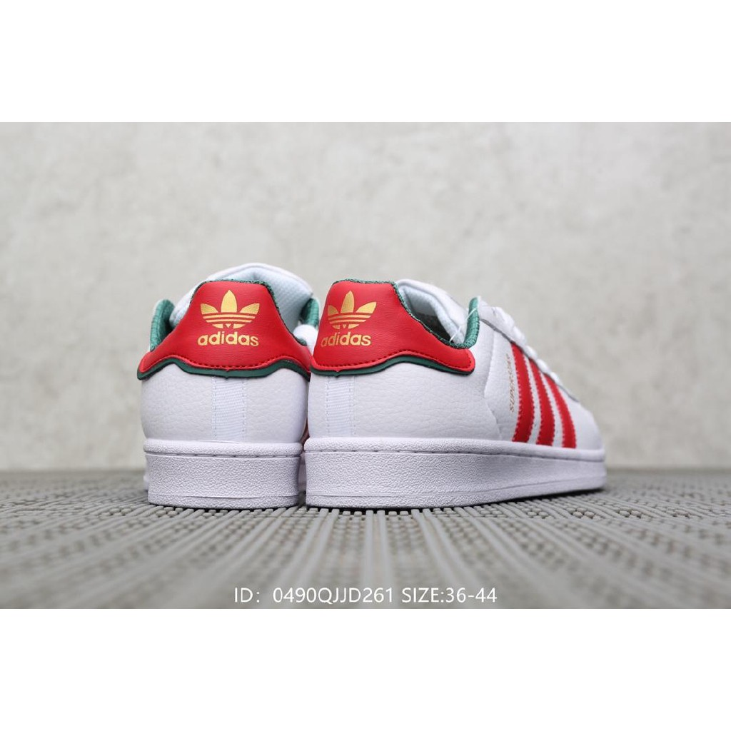 Original Adidas Superstar Christmas joint men and women's sports shoes Color 2nd