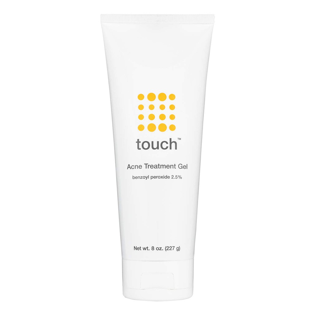 Touch Benzoyl Peroxide 2 5 Acne Treatment Gel Pimples And Cystic Acne Spot Treatment 8 Oz Shopee Philippines
