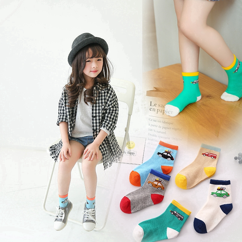 1 Pairs Children/'s Girls Cotton Rich Character Socks Kids Size random color USrr