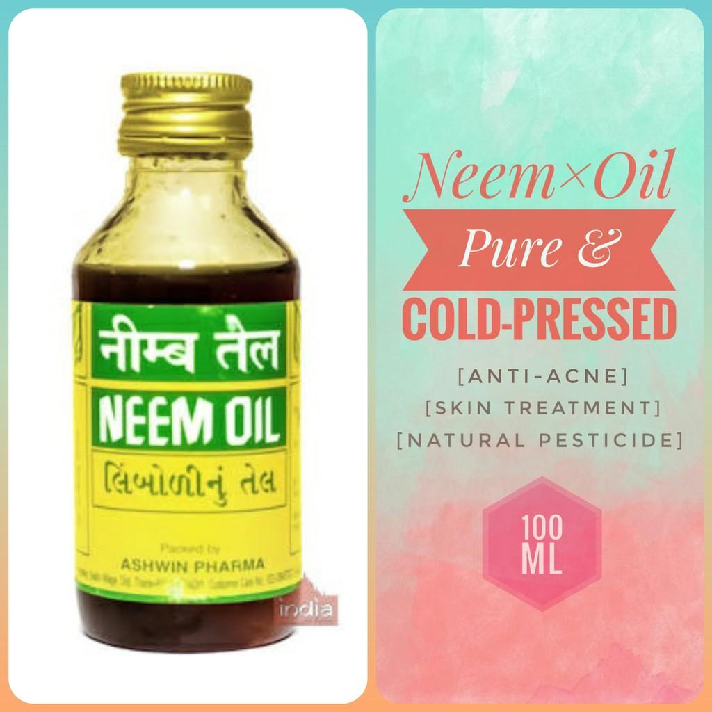 Pure Neem Seed Oil 100 ml COD