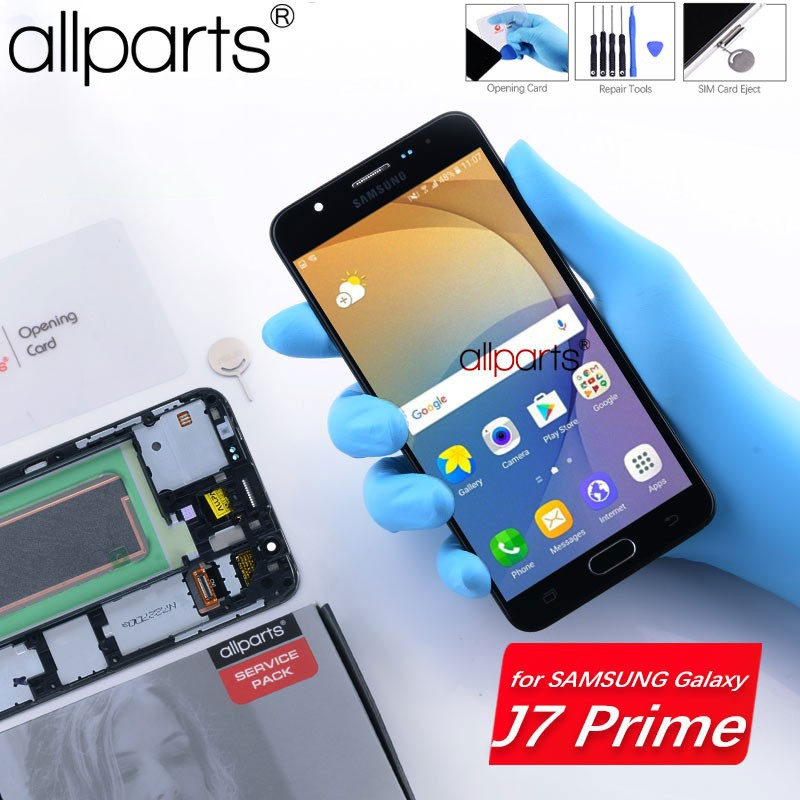 For SAMSUNG Galaxy J7 Prime 2016 LCD G610 Touch Screen