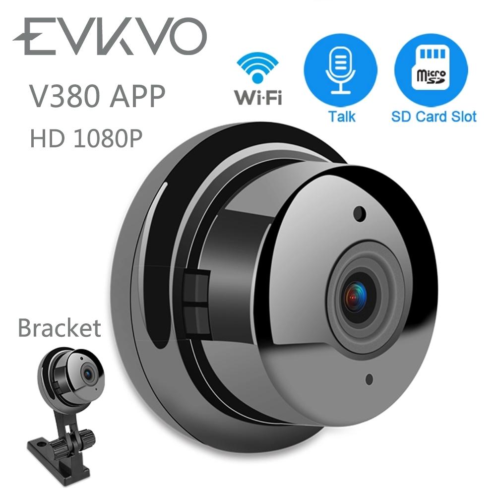 V380 APP Wifi Mini IP Camera 1080P Wide Angle Night Vision