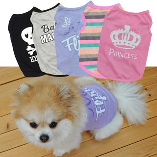 867357e6f9392 🐶 Dog Clothes 🐶Cute Vest Shirt For Puppy Kitty