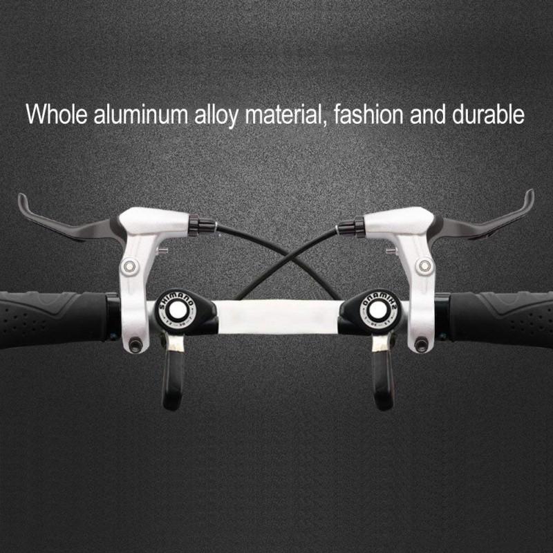 Road Bike Brake Levers Aluminum Alloy Fixed Gear Bicycle Brake Lever 24mm JA
