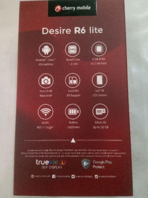 DESIRE R6 LITE (promo sale) | Shopee Philippines
