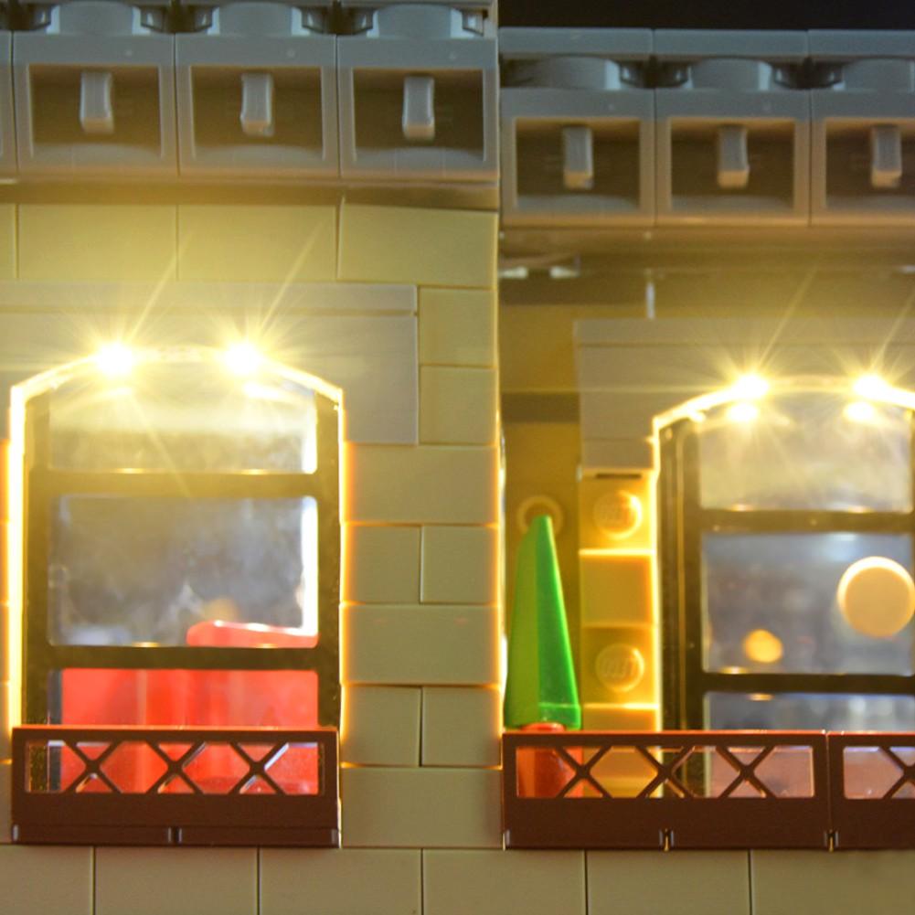 USB Powered LED Light Kit for Lego 10260 Downtown Diner