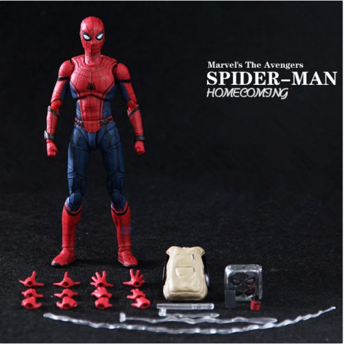 SHF S.H.Figuarts Spider-Man Homecoming Spiderman Action Figure Toy Gift AU HOT