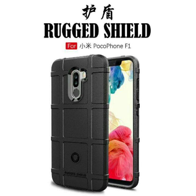 pretty nice 41b64 7f0f5 Xiaomi Pocophone F1 Rugged Shield Case