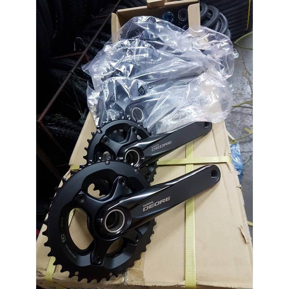 Chainwheel MTB SHIMANO Deore FC-M6000-2 10-Spd w/ BB Parts