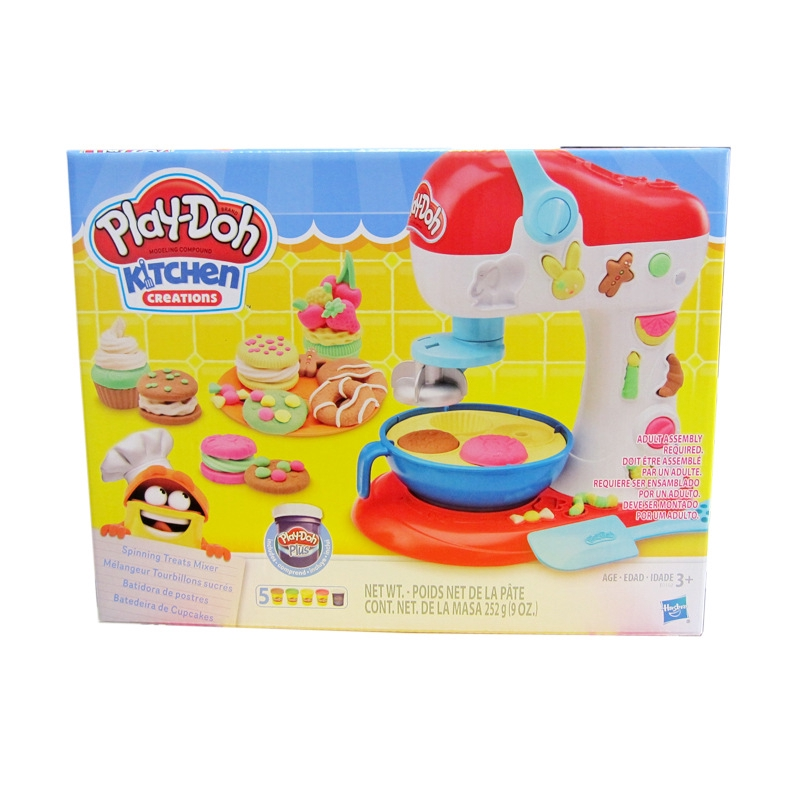 Hasbro Play Doh Kitchen Creations Spinning Treats Mixer With Dough E0102 For Children Brand New Shopee Philippines