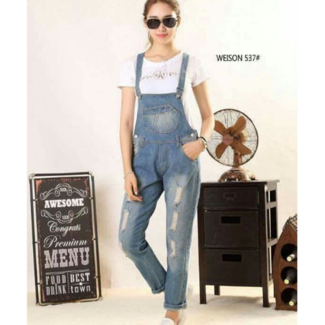a few days away low price new products for Denim Jumper Pants