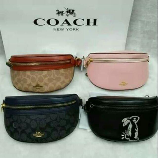 adb830a2d Coach belt bag | Shopee Philippines