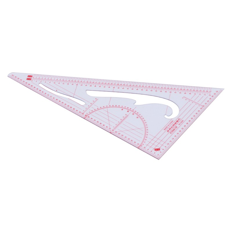 Fanct 5pcs Sewing French Curve Ruler Measure Sewing Dressmaking Tailor Craft Tool Set