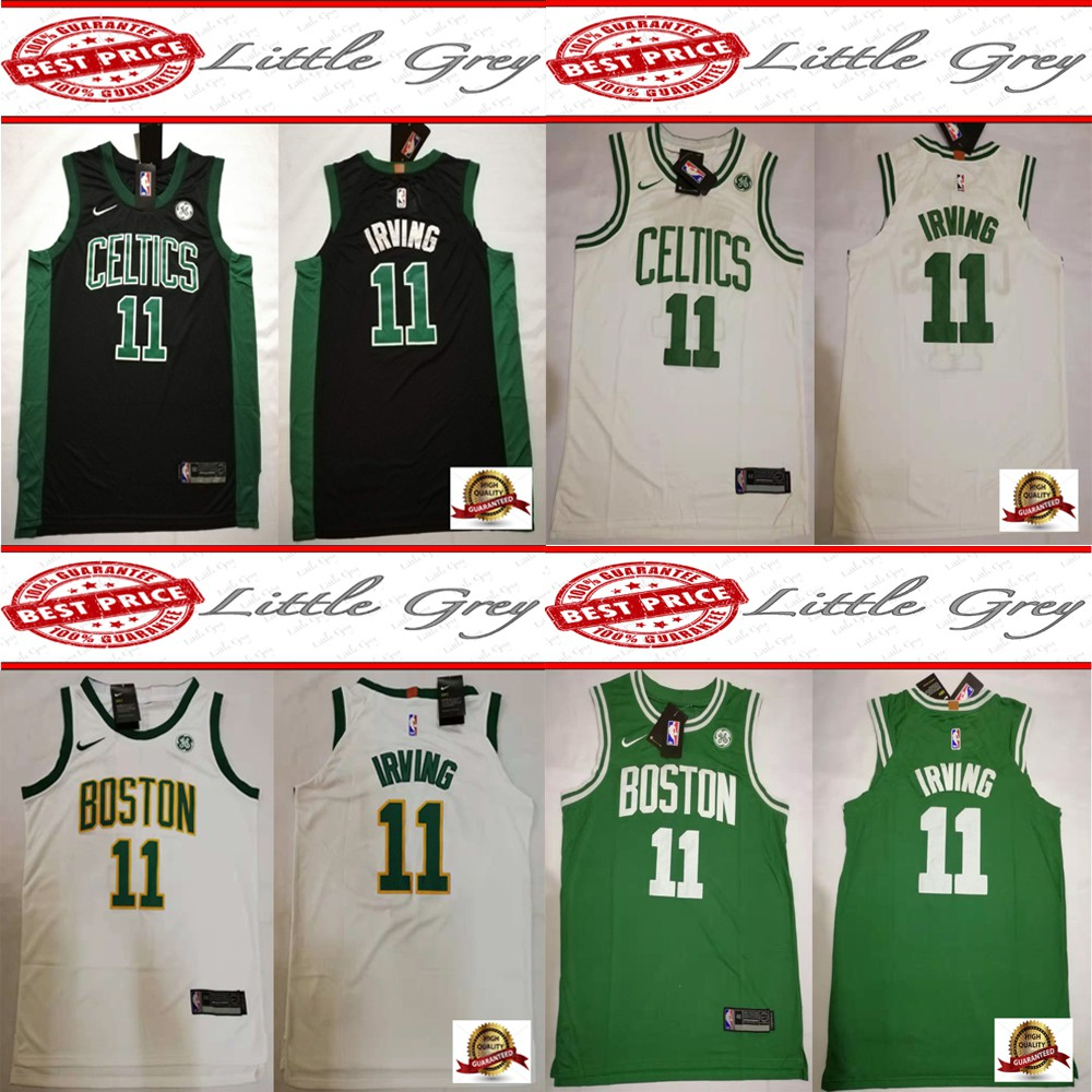 size 40 f737b 6b7b5 Boston Celtics 11 Kyrie Irving Swingman Basketball Jersey