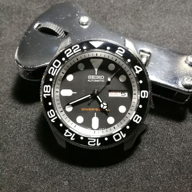 SKX007 Black GMT Lumed Ceramic Insert | Shopee Philippines