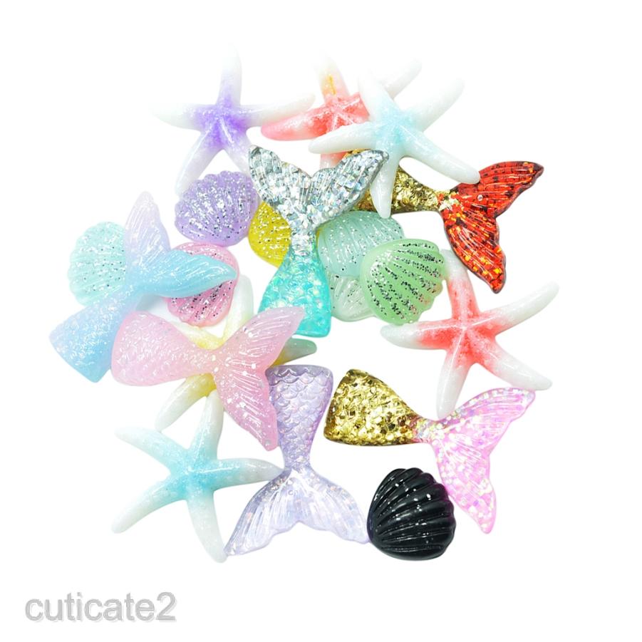 6pcs Mix Candy Hearts Sweet Resin Flatback Cabochons Embellishment decoden Craft