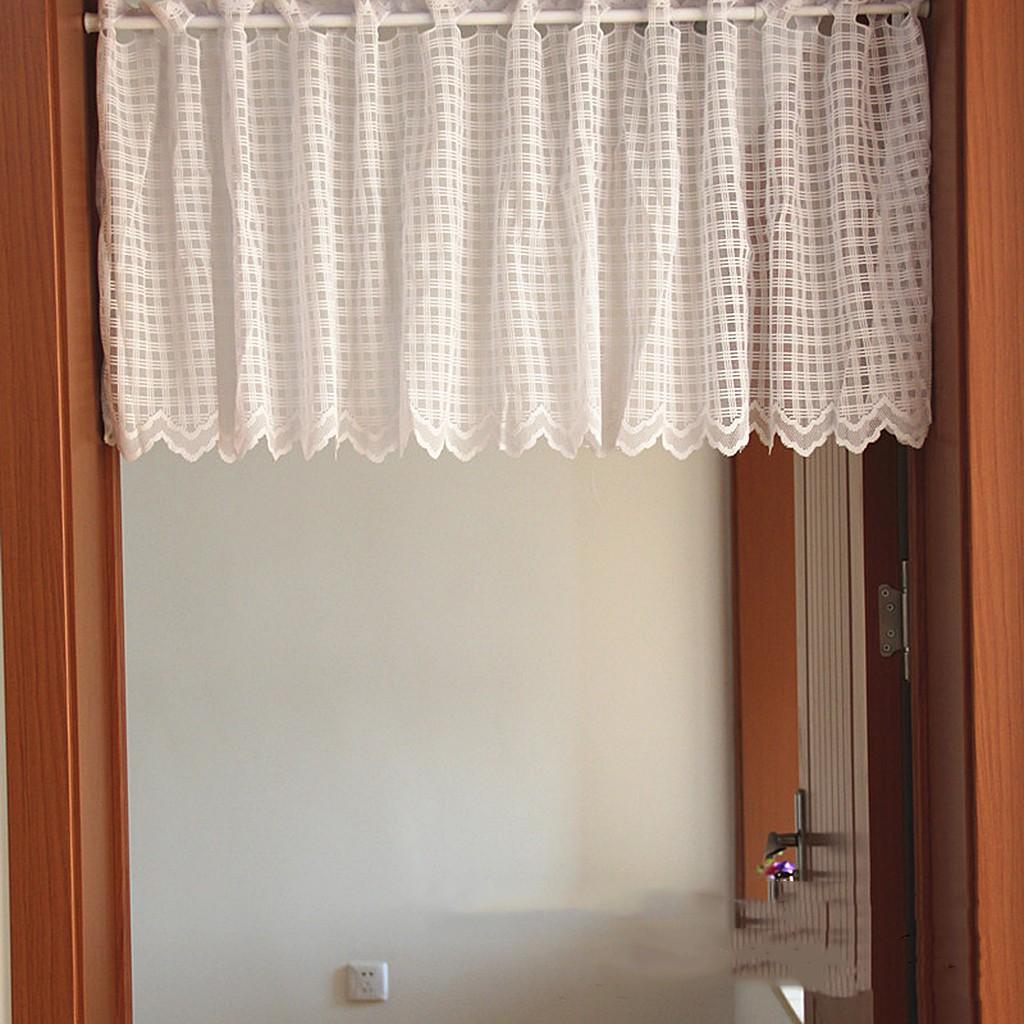 45x150cm Country Hollow Lace Crochet Window Half Curtain Drape Panel Decor 3 Shopee Philippines