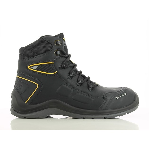 1986bc89dffaff Safety Jogger Dakar Black S3 High Cut Safety Shoes | Shopee Philippines