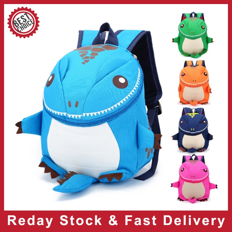 3D Character Backpack Novelty EVA School Nursery Rucksack Travel Lunch Gift