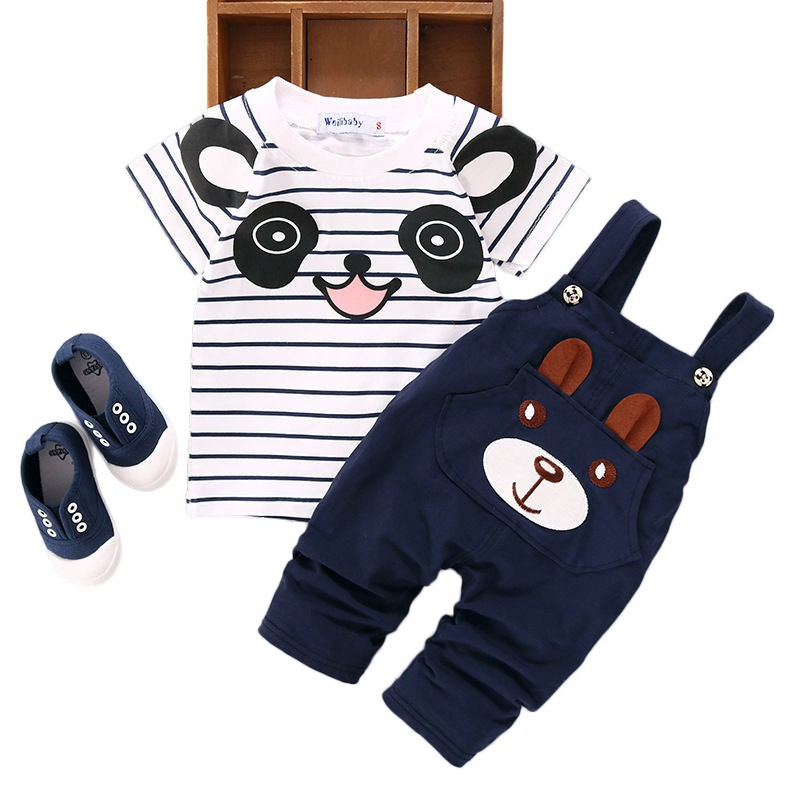 Infant Baby Boys Girls Hoodie Clothes Sets Long Sleeve Outfits 6-24 Months ❤️ 2Pcs Cartoon T Shirt Tops Pants