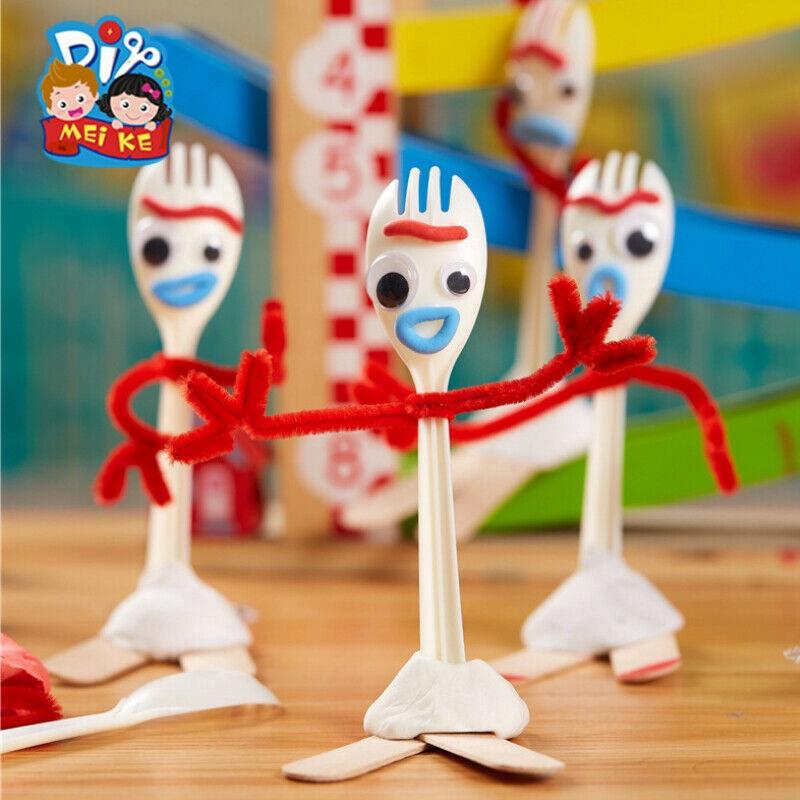 Pixar Toy Story 4 Make Your Own Forky DIY Craft Kit Baby Kids Developmental Toy