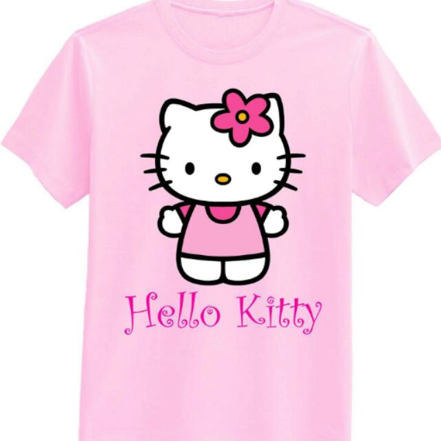 a1cd56cd00610 Hello kitty printed t shirt