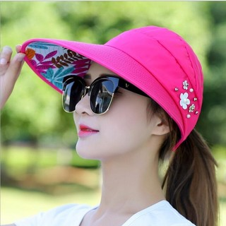 34cd4db0 Summer Hats For Women Foldable UV Protection Sun Hat | Shopee Philippines