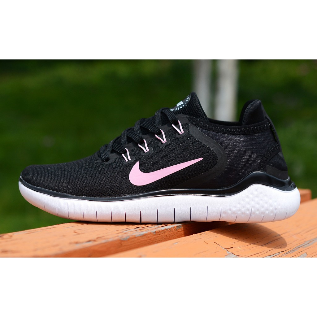 size 40 5c08d 1f2fa Nike Free RN 2018 sports shoes running shoes Black pink