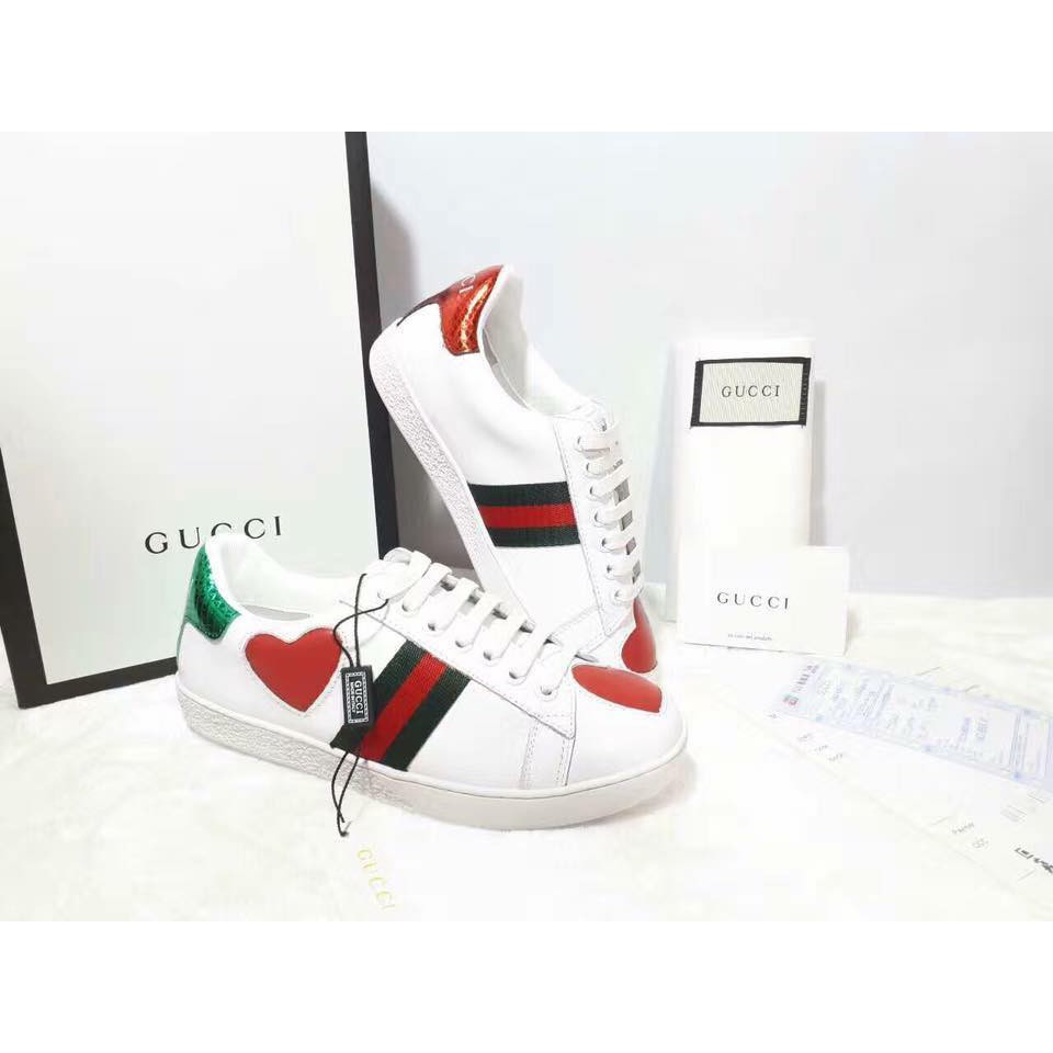 6c3a5e2d477 GUCCI Inspired Ace Embroidered Sneakers
