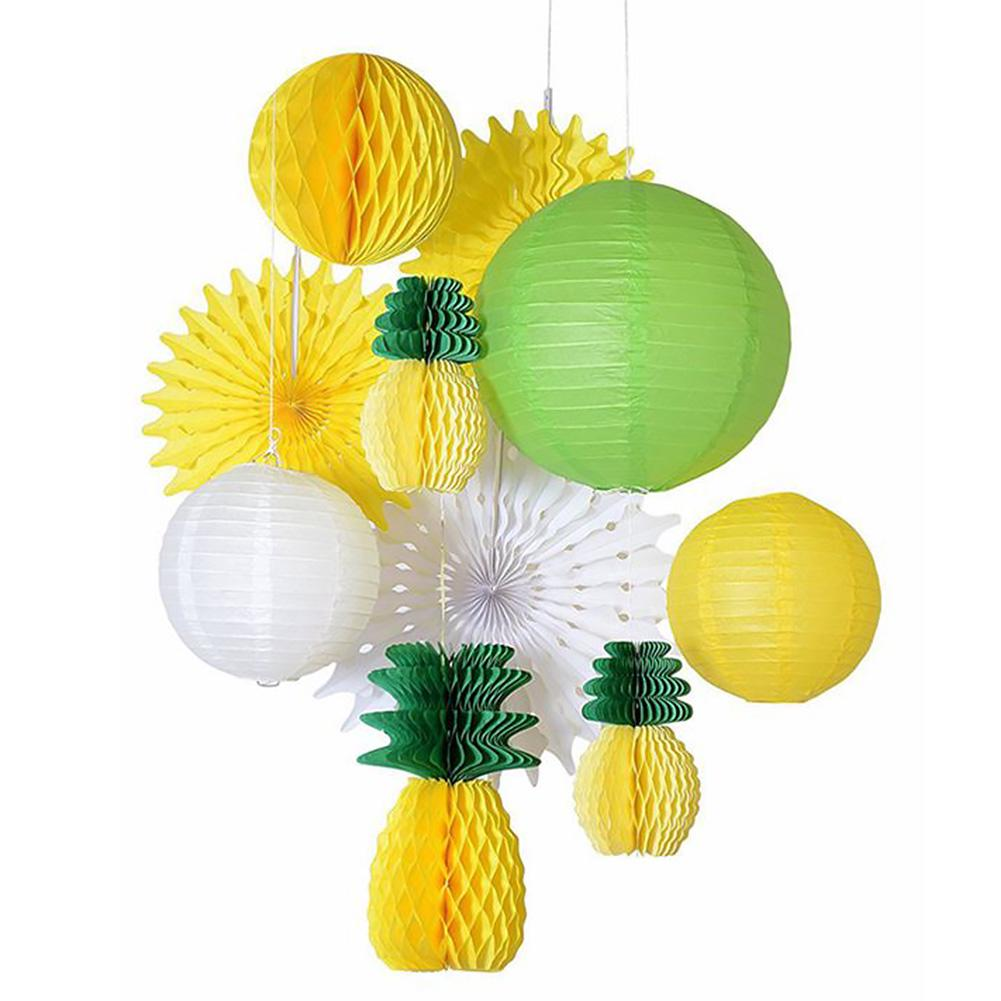 Fruit Honeycomb PARTY Garland hawaiian Summer party decoration tropical party
