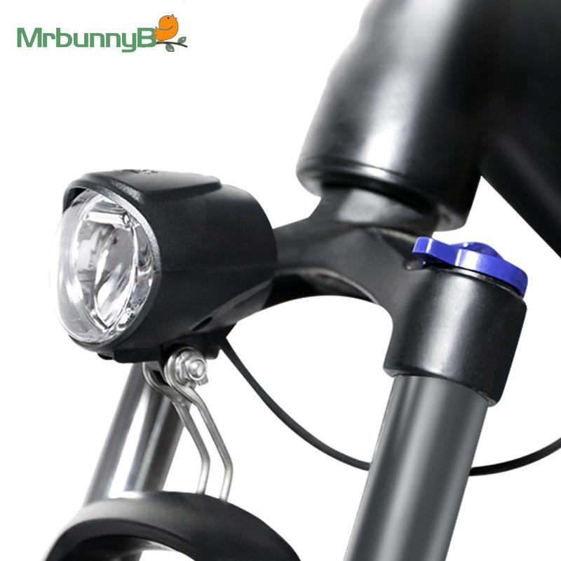 Parts Headlight 6V Light For Bafang mid drive motors Black Front Rear Waterproof