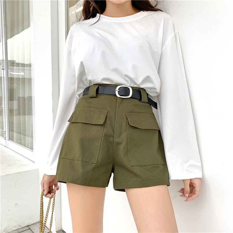 green shorts womens
