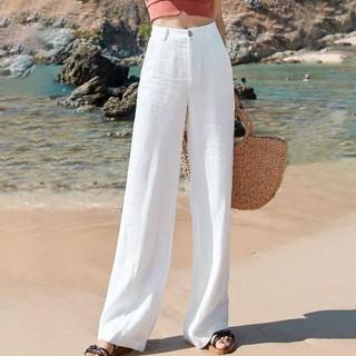 SIN vimklo Long Pants,Girls Loose National Wind Leaf Trousers Printed Pants