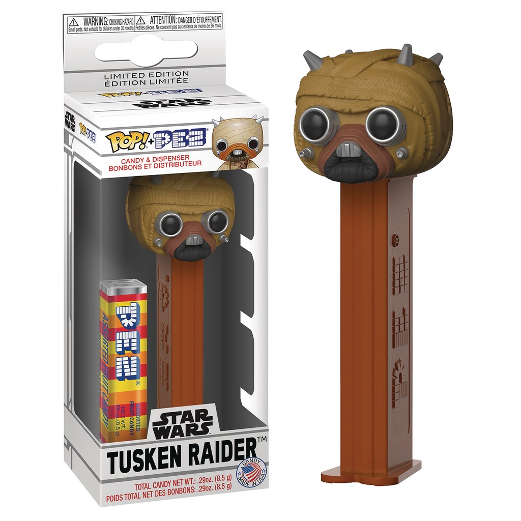 New Toy PEZ: Star Wars Tusken Raider Vinyl Figure FUNKO POP