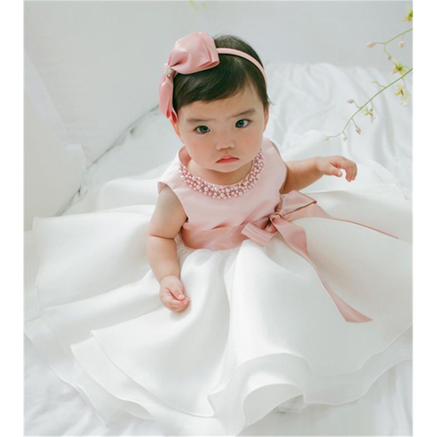 d25bd8877c3e3 [NNJXD]Infant Baby Girls Baptism Christening 1st Birthday Dress