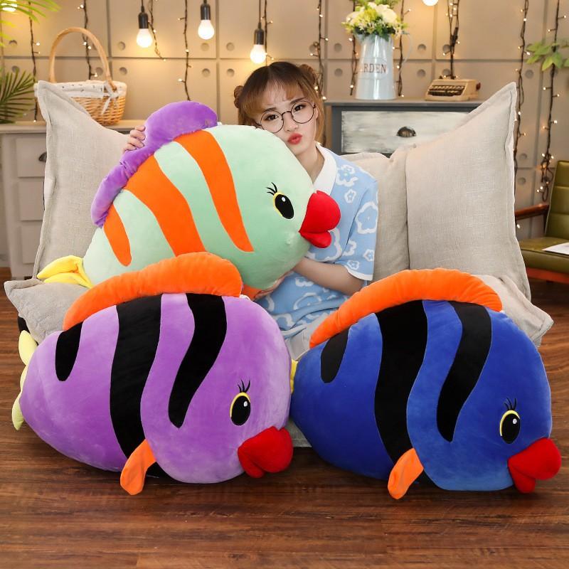 Simulation Carp Fish Soft Toy Stuffed Cushion Plush Doll Pillow Birthday Gift JJ