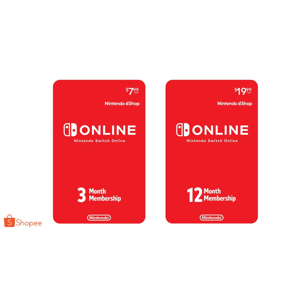 Us Nintendo Eshop Prepaid Card Digital Code Shopee Philippines Gift 35