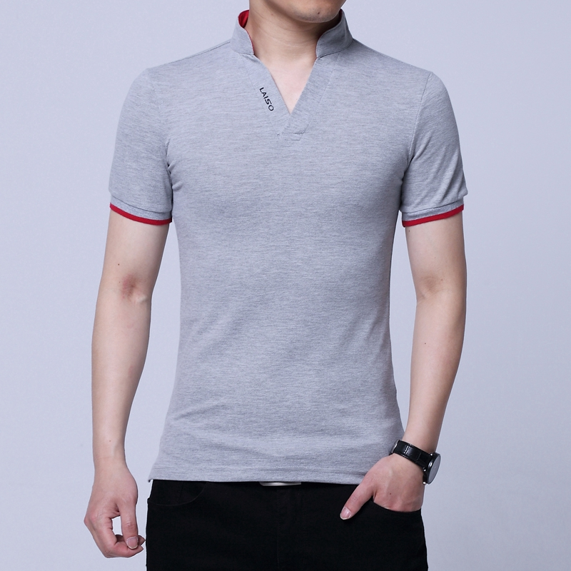 Basic Corona Logo Mens Casual Pique Polo T Shirt Slim Fit Adjustable Outside Short-Sleeves