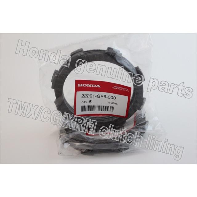 Honda Genuine Parts Motorcycle Clutch Lining TMX/CG/XRM ...
