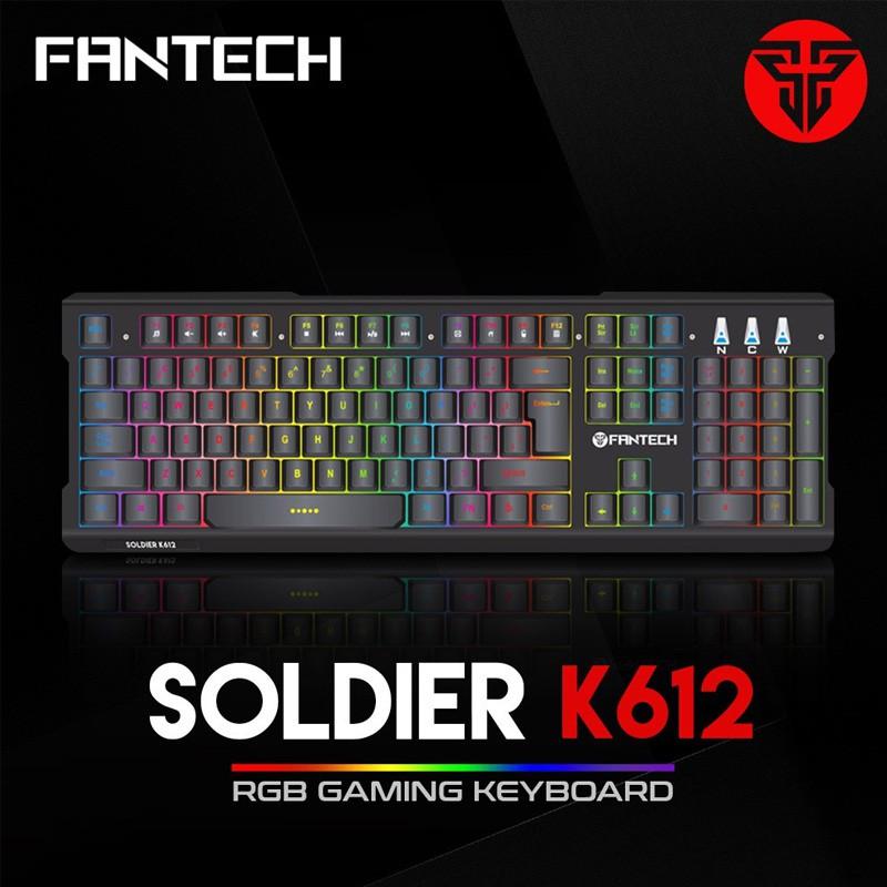 1389b17d79c Fantech K612 Soldier RGB Gaming Keyboard | Shopee Philippines