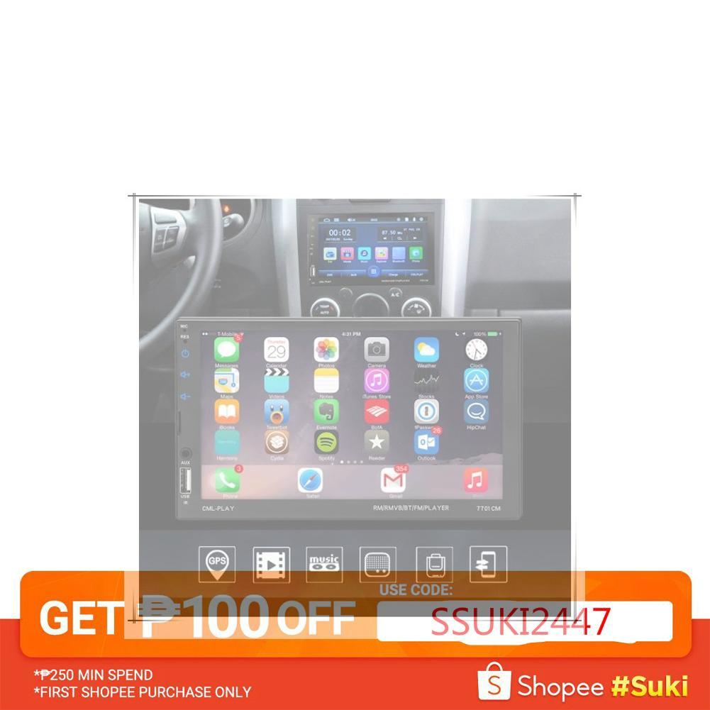 💥Car Bluetooth HD LCD Screen MP5 Radio TF AUX USB Charger💥