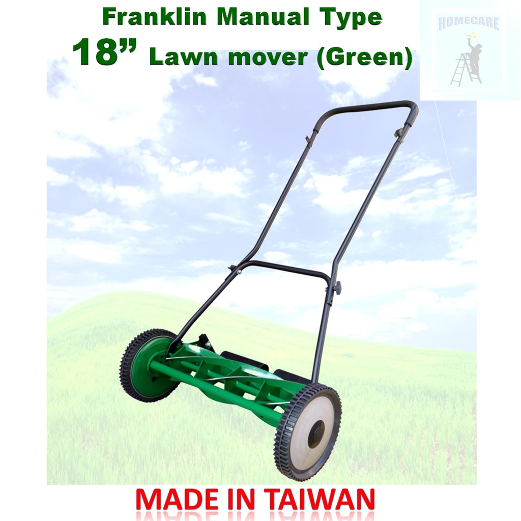 Franklin Manual Type Lawn Mower 18 Green Shopee Philippines