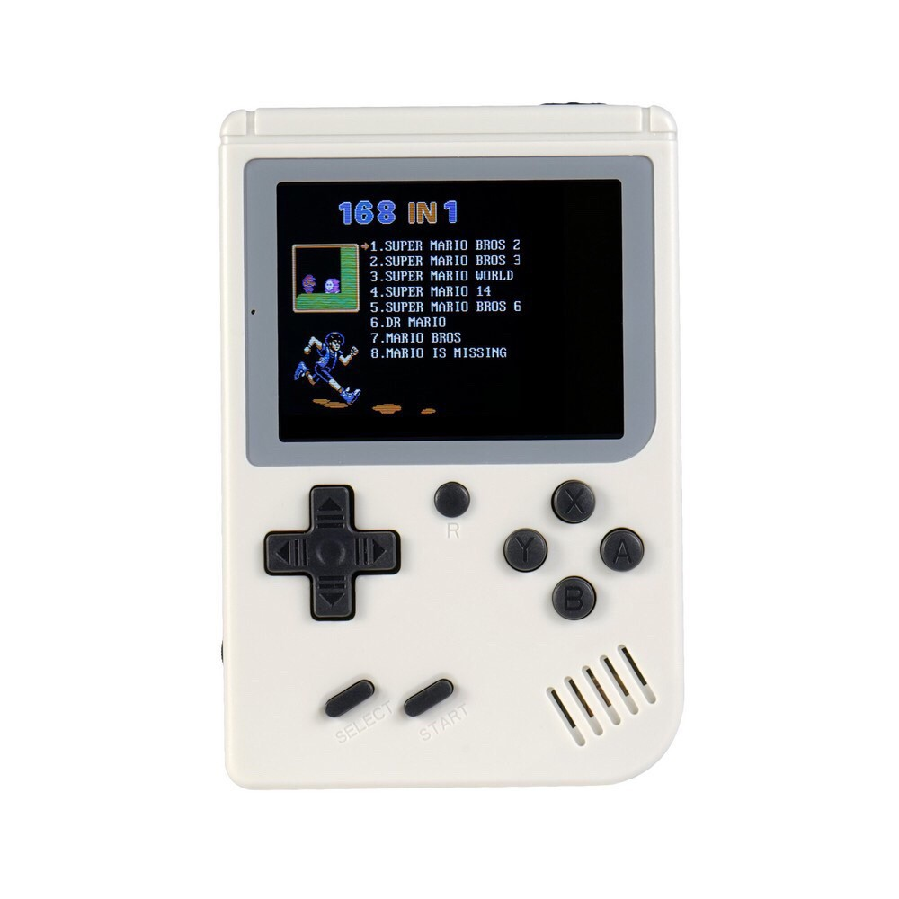 【COD】Handheld Game Console 3 0 Inch 168 Games Retro FC GamePlayer