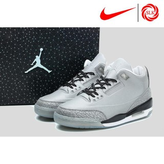 1ca0a22371de ... Nike Air Jordans 3 5Lab3 Reflective Silver -White 631603-003 Basketball  shoes. like  0